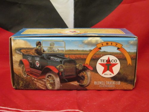 - TEXACO 1917 MAXWELL TOURING CAR COLLECTOR SERIES 14 DIE CAST COIN BANK