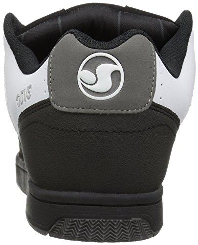 DVS Shoes Discord, Sneaker Uomo Nero (Black Grey Nubuck 014)
