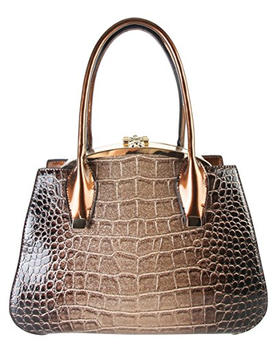 rimen-co-shiny-patent-pu-leather-animal-print-doctor-style-double-compartments-medium-tote-womens-pu