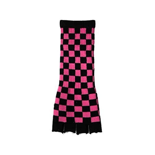 Rock Daddy guantes para mujer negro negro/rosa