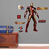 FATHEAD 15-16921 Avengers Iron Man-Age of Ultron Vinyl Decals