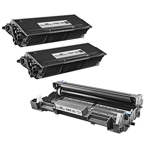Speedy Inks - 3PK Compatible Konica Minolta Bizhub 20 Series 2x TNP-24 HY Black Toner 1x DRP 01 Drum for use in Konica Minolta Bizhub 20, Konica Minolta Bizhub 20P, Konica Minolta Bizhub 20PX