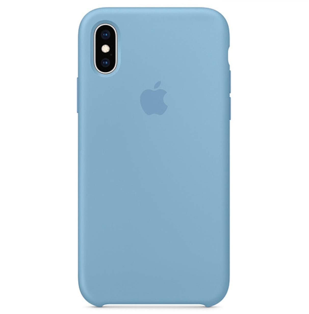 Maycase Compatible for iPhone Xs MAX Case, Liquid Silicone Case Compatible with iPhone Xs MAX 6.5 inch (Cornflower)