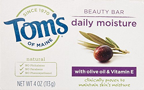 Tom's of Maine Daily Moisture Natural Beauty Bar with Olive