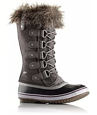 Sorel Joan of Arctic Boots, Quarry/Black, 10