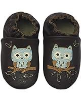 Rose & Chocolat Chaussures Bébé Night Owl Marron