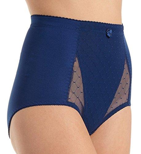 Rhonda Shear Pin Up Lace Front Brief Panty (4001) S/Sapphire
