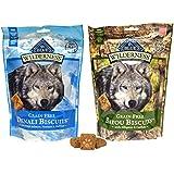 Blue Buffalo Wilderness Dog Treat Variety Pack - 2 Flavors (Denali Blend & Bayou Blend), 8-Ounces Each (2 Total Pouches)