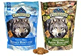 Blue Buffalo Wilderness Dog Treat Variety Pack – 2 Flavors (Denali Blend & Bayou Blend), 8-Ounces Each (2 Total Pouches)