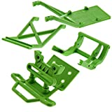 Traxxas Stampede 2wd XL-5 VXL CONVERSION Kit Upgrade GREEN BUMPER & SKID PLATES