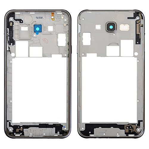Chassis Bezel - BisLinks Middle Chassis Side Button Bezel Camera Lens Part for Samsung Galaxy J7 J700F