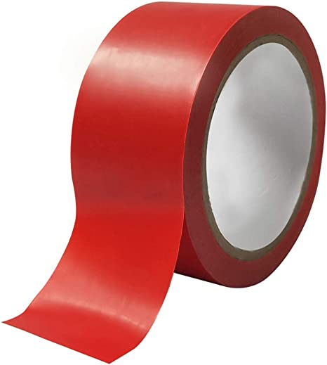 Floor Marking Tape Basketball Court Marking Tape Area Dividing Tape Badminton Court Marking Tape Color Red Amazon Ca Home Kitchen