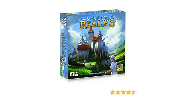 DV Giochi - Minute Realms - El Juego de construcción de Ciudad, DVG9031: Amazon.es: Juguetes y juegos