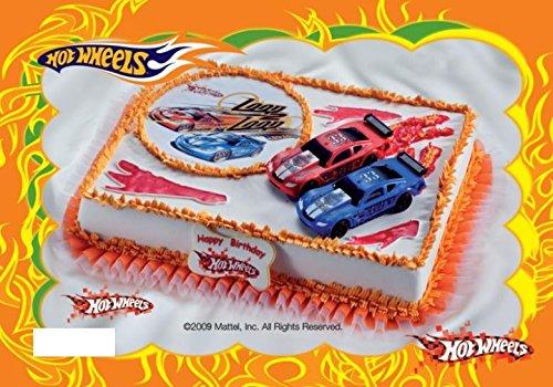 Decoración para Tartas Hot Wheels 4 Piezas Tarta niños ...