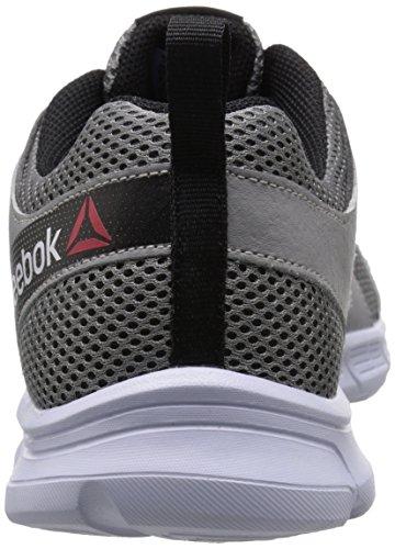 4e Shoe Running Reebok Run 0 Mens Grey Supreme 2 Flat White Black UXBnwU