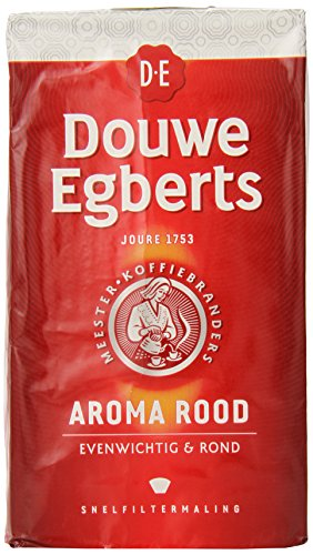 : Douwe Egberts Aroma Rood Ground Coffee, 17.6-Ounce (Pack of 2)
