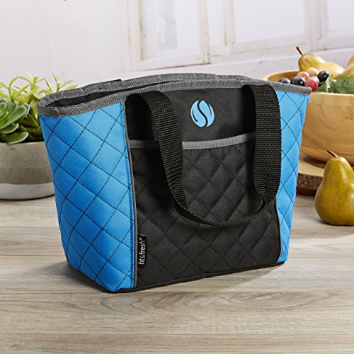 quilted cooler tote - 1