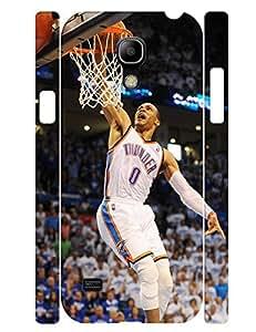 Terrific Series Cell Phone Case Powerful Man Basketball Athlete Print Tough Case Cover for Samsung Galaxy S4 Mini I9195 (XBQ-0102T)