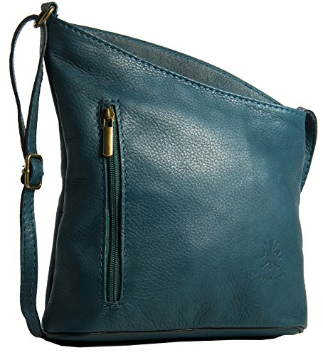 Big Handbag Shop, Borsa a tracolla donna One Dark Teal