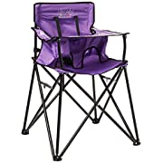 ciao! baby Portable Travel Highchair, Purple