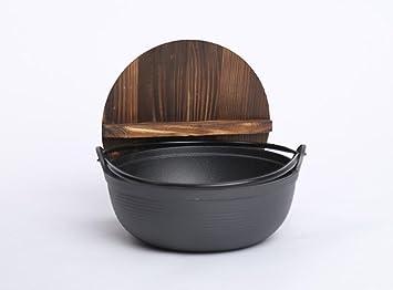 WJF Sopa de cacerola Cacerola de hierro fundido Sopa de pan Manual ...