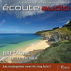 Écoute audio - La Bretagne. 7/2012