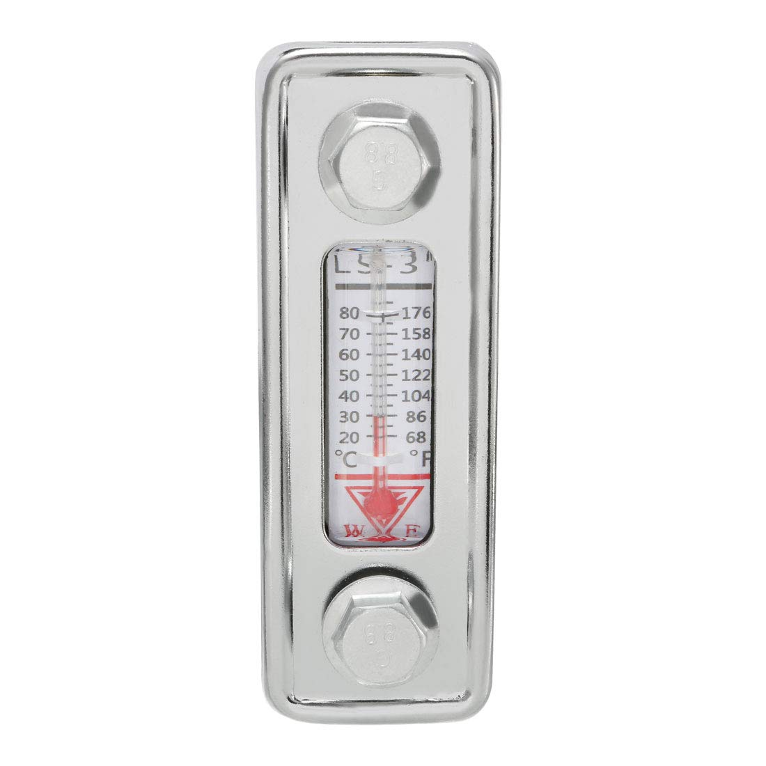 uxcell Water Liquid Temperature Gauge Hydraulic Oil Level Gauge with Thermometer LS-3 by uxcell