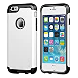 iPhone 6/6s Case, LUVVITT ULTRA ARMOR Case   Double Layer Shock Absorbing Cover - Black / White