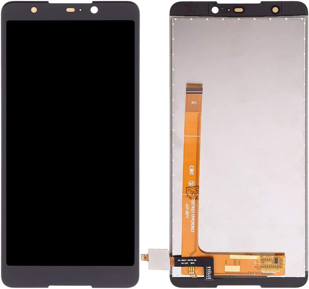 Replacement XIAOMIN LCD Screen and Digitizer Full Assembly for Wiko Lenny5 Color : Black Black