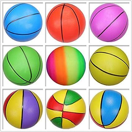 Amazon.com: MyToy - 2 pelotas de baloncesto hinchables de ...