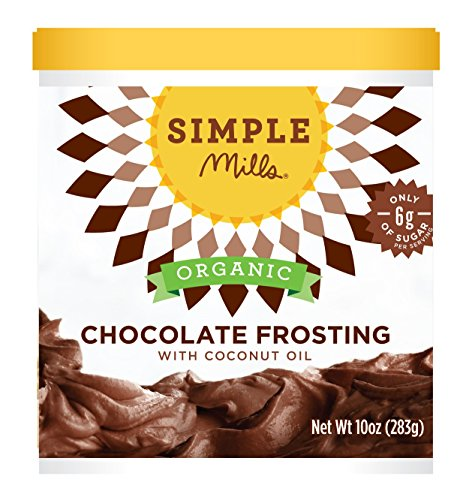 Simple Mills Organic Frosting with Coconut Oil Chocolate, 10 oz