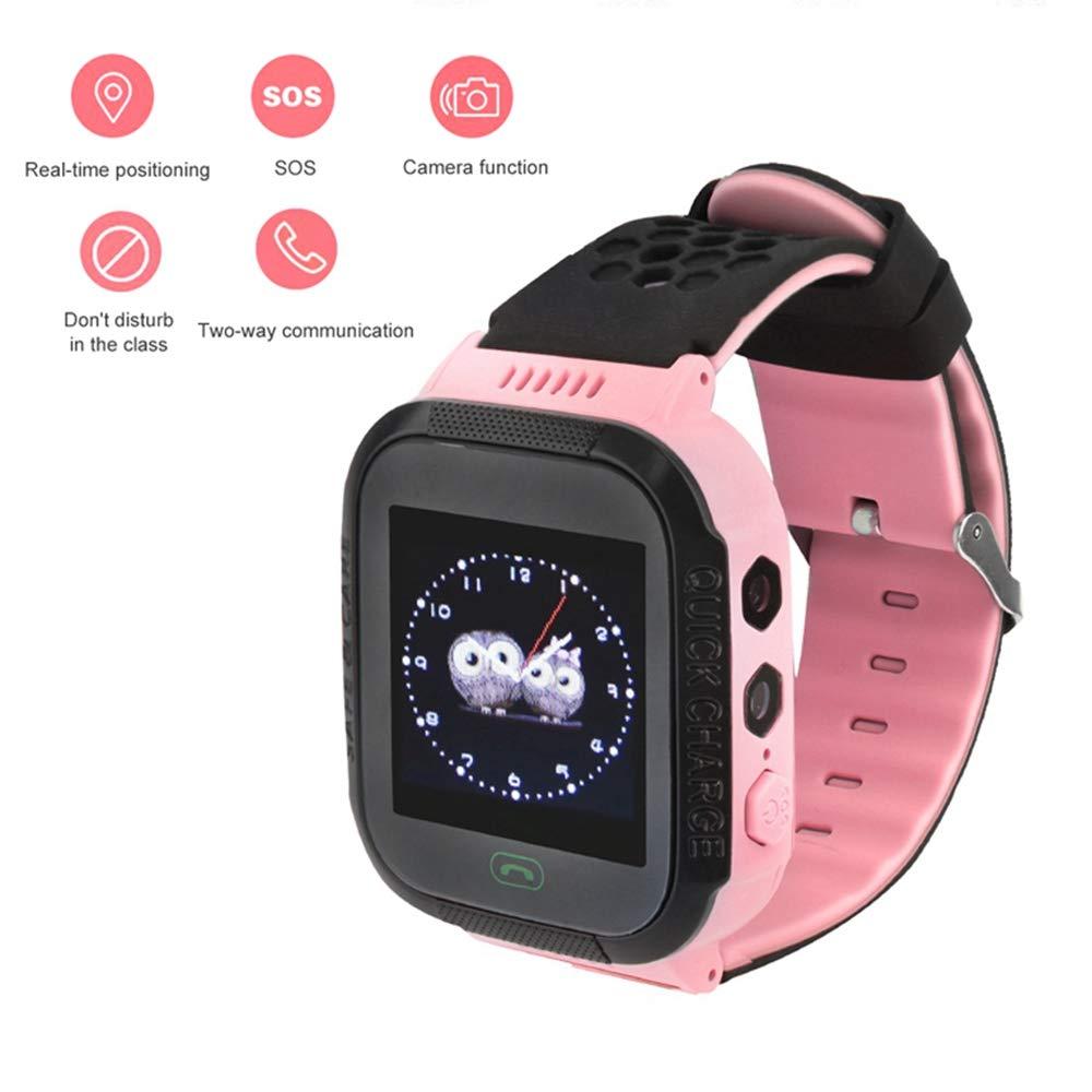 Tosuny Smartwatch para niños, Localizador GPS para niños con 1.44 ...