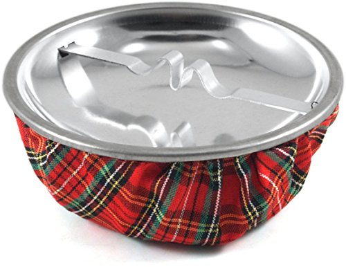 Red Plaid Sandbag Cigarette Ashtray (Ashtray Red)