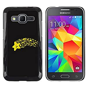 Exotic-Star ( Funny Flying Star ) Fundas Cover Cubre Hard Case Cover para Samsung Galaxy Core Prime / SM-G360