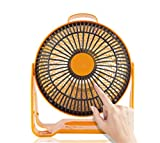 STEAM PANDA Portable Heater Low Wattage 200w 220v Quartz Tube Mini Energy Efficient Silent Operation Radiator