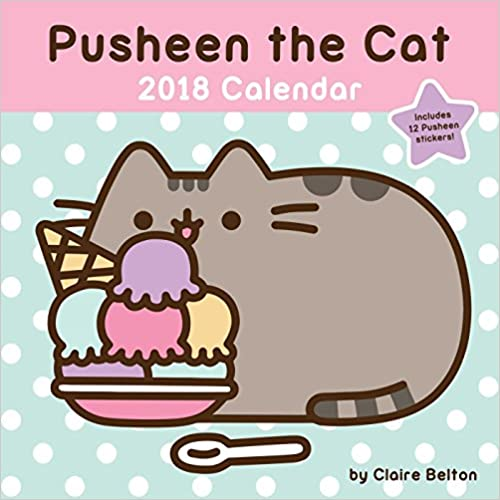 Pusheen The Cat 2018 Calendar por Claire Belton epub
