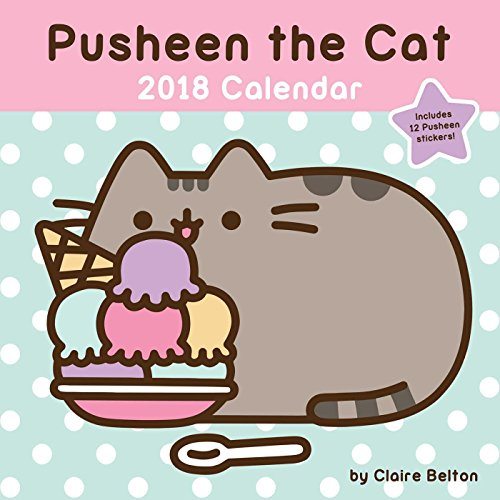 Pusheen the Cat 2018 Wall Calendar PDF
