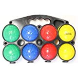 Beach/ Lawn Game- 4 Player Economy Bocce Ball Set With Carry Case by FunStuff