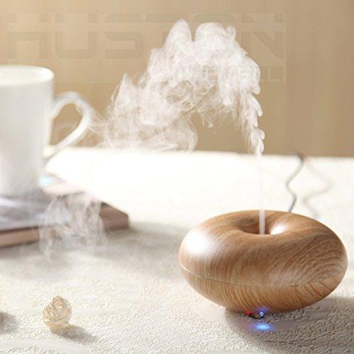 Aution House-Humidifier Ultraschall-Luftbefeuchter Aromatherapie Diffusor Grund Luftbefeuchter Luftreiniger Zimmer / Büro / Schönheitscenter , Spa, Yoga / Bad - Wohnzimmer (Brown)