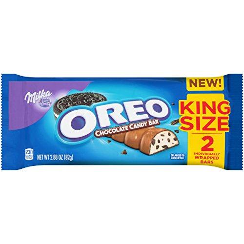 Milka Oreo Chocolate Candy Bar, 1.44 Ounce (Pack of 24)