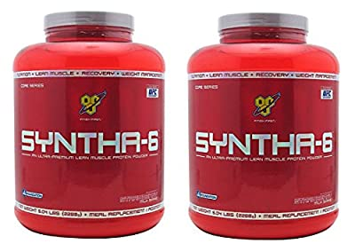 BSN Syntha-6 Protein Powder, 5 Pound