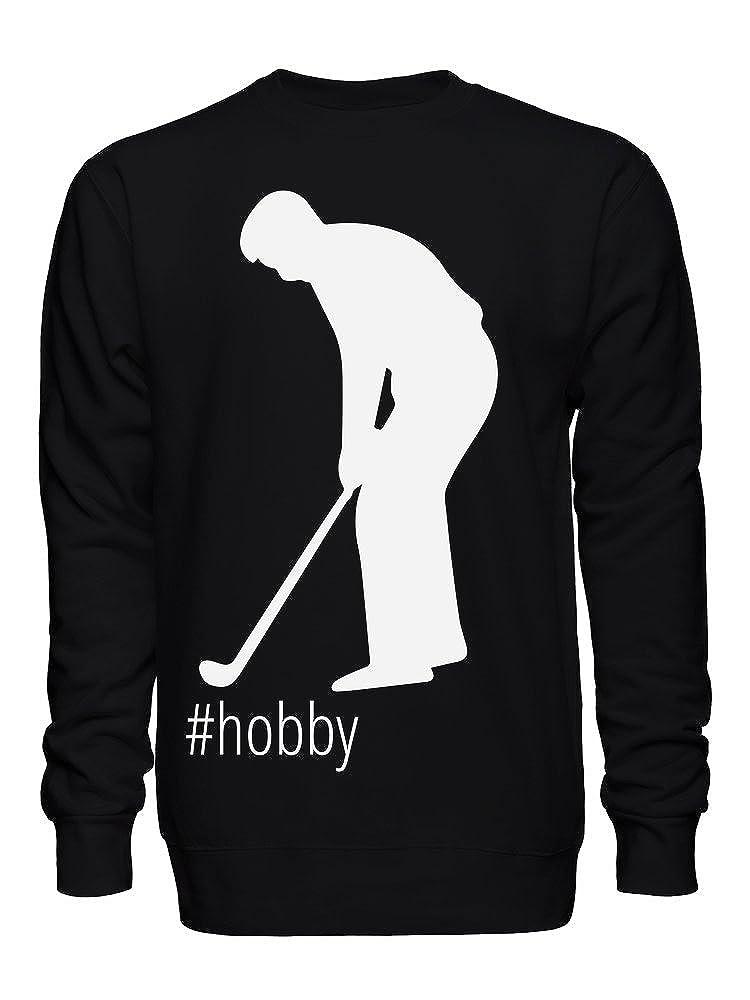 graphke Hashtag Golfing Unisex Crew Neck Sweatshirt