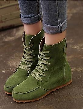 XZZ/ Zapatos de mujer - Tacón Cuña - Comfort / Botines - Botas - Casual