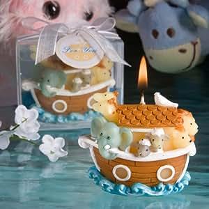 Fashioncraft Noah's Ark Design Candles