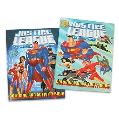 Amazon DC Heroes Activity Book