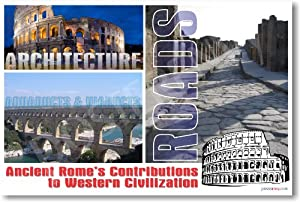 major roman empire contributions to western civilizations Nothing like it had existed in ancient greece or rome  in my book how the  catholic church built western civilization, how indebted we are,.