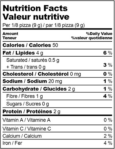 Low Carb Pizza Crust Mix, Very Low Calorie, Gluten Free, No Added Sugar, No Sweeteners, No Preservatives, Made in Canada - makes one large 12'' low carb pizzas by HoldTheCarbs (Image #3)