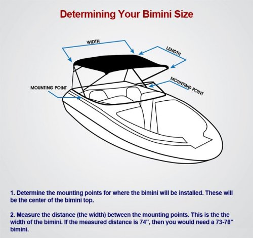 best komo covers pontoon boat bimini top cover canopy with boot and hardware 10 feet by 97 to. Black Bedroom Furniture Sets. Home Design Ideas