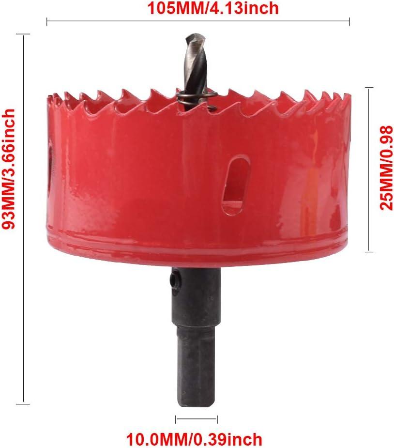 Makita D-17142 Couronne bi-m/étal 105 mm pour lacier m/étal bois et plastique