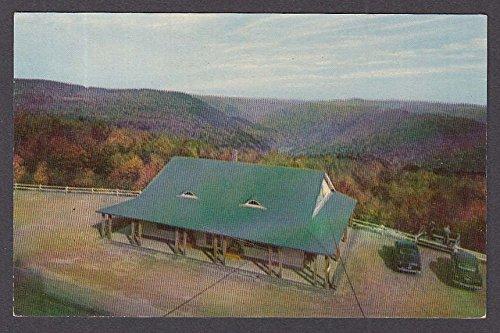 Eastern Summit Gift Shop Mohawk Trail MA postcard 1950s